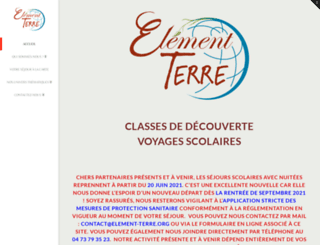 element-terre.org screenshot