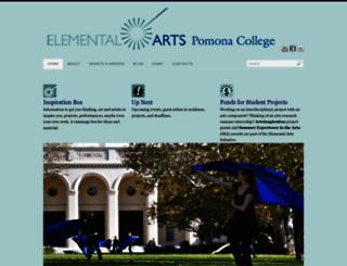 elementalarts.pomona.edu screenshot