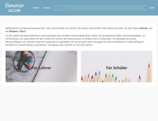 elementarwissen.de screenshot