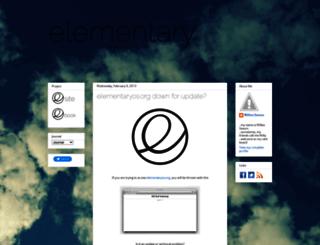 elementaryluna.blogspot.com screenshot