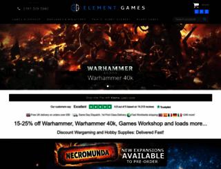elementgames.co.uk screenshot