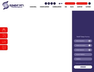 elementlojistik.com.tr screenshot