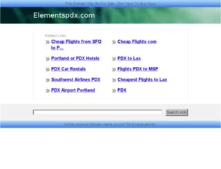 elementspdx.com screenshot