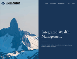 elementuswealth.com screenshot
