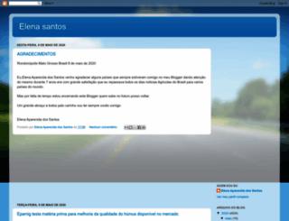 elenaaparecida.blogspot.com screenshot