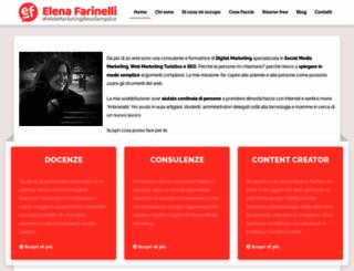 elenafarinelli.it screenshot