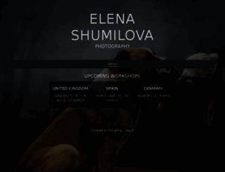 elenashumilova.smugmug.com screenshot