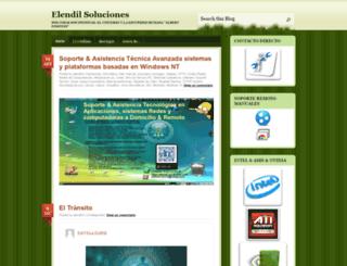 elendill.wordpress.com screenshot