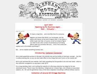 elephanthouseauctions.com screenshot