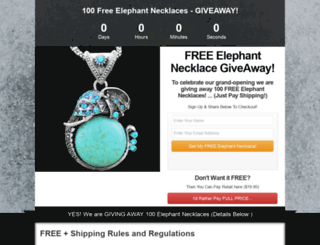 elephantnecklace.teesuitex.com screenshot