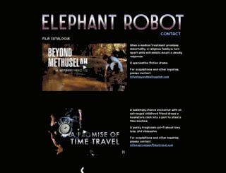 elephantrobot.com screenshot
