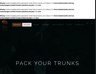 elephantsafariparklodge.com screenshot