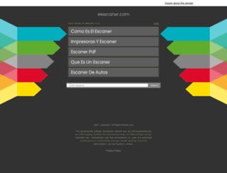 elescaner.com screenshot