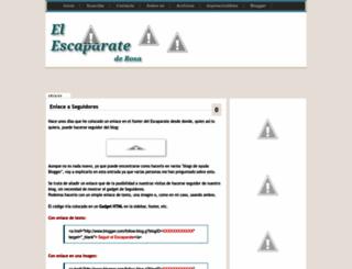 elescaparatederosa.blogspot.com screenshot