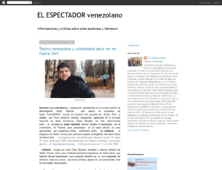 elespectadorvenezolano.blogspot.com screenshot