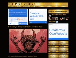 elespejogotico.blogspot.com.es screenshot