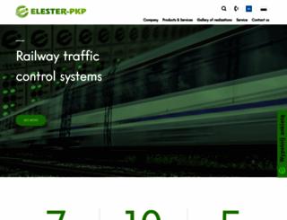 elester-pkp.com.pl screenshot