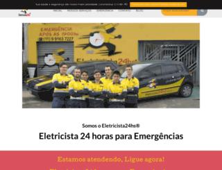 eletricista24hs.com.br screenshot