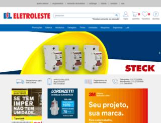 eletroleste.com.br screenshot