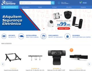 eletronicasantana.com.br screenshot