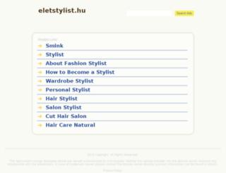 eletstylist.hu screenshot
