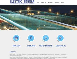 elettricsistem.net screenshot