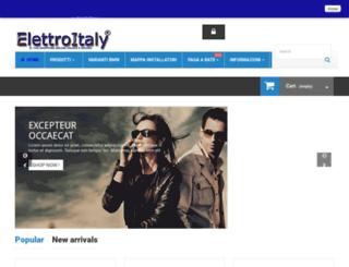 elettroitaly.it screenshot