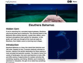 eleuthera-map.com screenshot