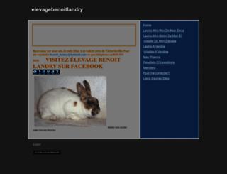 elevagebenoitlandry.webs.com screenshot