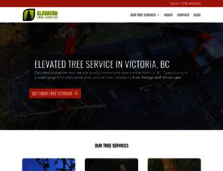 elevatedtreeservice.com screenshot