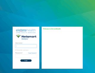 elevatehealth.devero.com screenshot