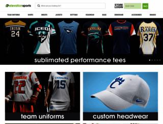 elevationlacrosse.com screenshot