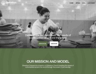 elevationoutreach.com screenshot