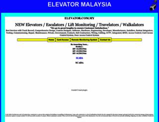 elevator.com.my screenshot