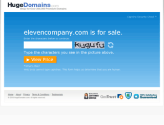 elevencompany.com screenshot
