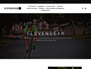 elevengear.com screenshot