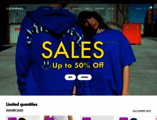 elevenparis.com screenshot