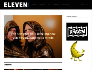 elevenpdx.com screenshot