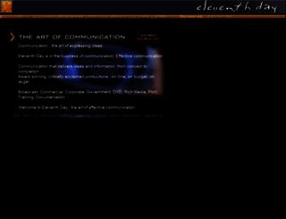 eleventhday.com screenshot