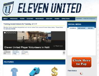 elevenunited.demosphere-secure.com screenshot