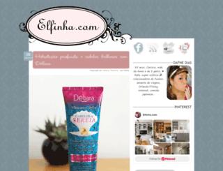 elfinha.com screenshot