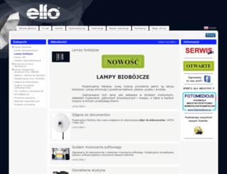 elfo.com.pl screenshot