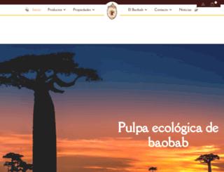 elfrutodelbaobab.com screenshot