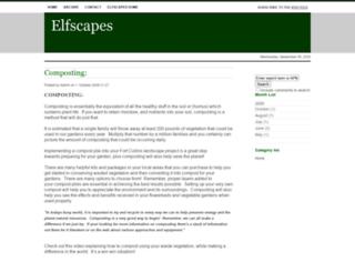 elfscapesblog.com screenshot