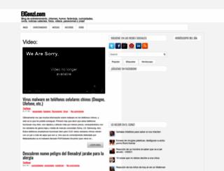 elgonzi.com screenshot