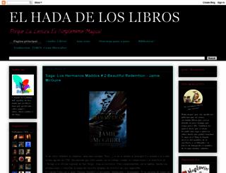 elhadadeloslibross.blogspot.com.es screenshot