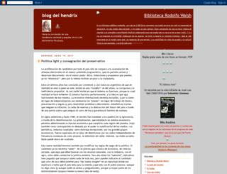 elhendrix.blogspot.com screenshot