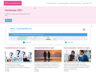 elhoroscopodeldia.com screenshot
