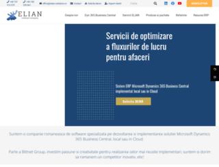 elian-solutions.ro screenshot
