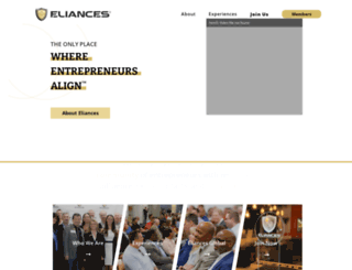eliances.com screenshot
